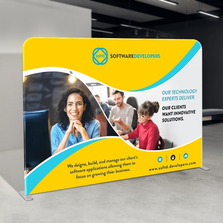 Straight Tension Pop-Up Display